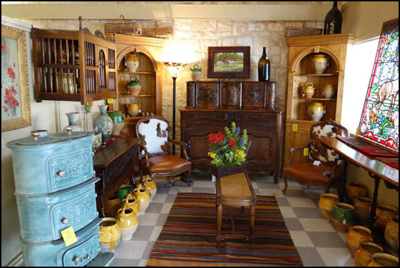 """Each piece has its own history of usage over time resulting in """"beauty  marks"""" telling its age, and we want the customer to """"see it and feel it"""" in  person ... - French Country Antiques: Main Street Utopia"""